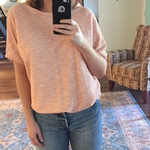 Terry knit top from Zara